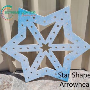 ELD HD Printed 60cm SnowFlakes